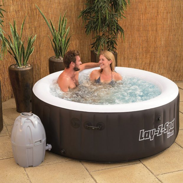 Bestway Lay-Z-Spa Miami Inflatable Hot Tub Just $257.09!  Down From $500!