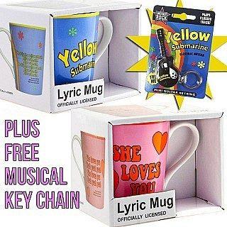 The Beatles - 2 Mug Set - Plus BONUS - Only $5.99!