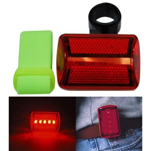 LED Red Safety Flasher w/Arm Strap Only $1.99 Plus FREE Shipping!