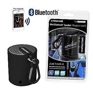 XTREME Portable Wireless Bluetooth Speaker w/ Carabiner Hook - One for $13 or Two for $20 Plus FREE Shipping!
