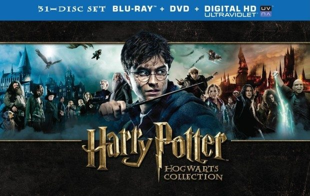 Harry Potter Hogwarts Collection (Blu-ray + DVD) Just $97.99 All 8 Movies PLUS MORE!  Down From $141!