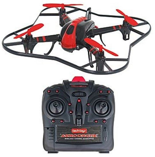 Techtoyz Aerodrone X6 Drone With Camera Just $39.99!  Down from $100!