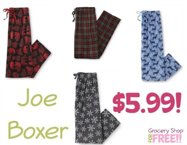 Joe Boxer Men's Pajama Pants Just $5.99!