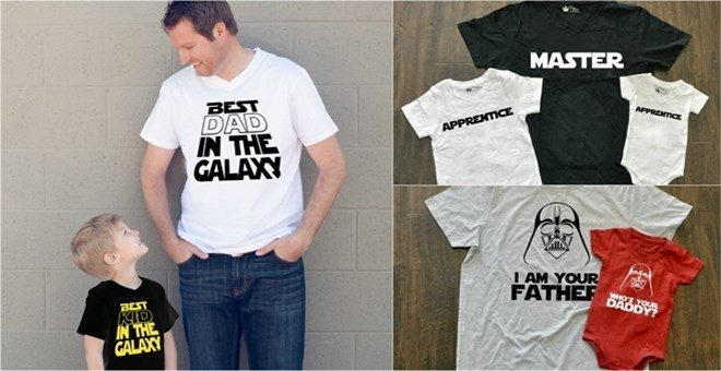 Matching Intergalactic Dad & Kid Shirts! Only $12.99! Down From $24.99!