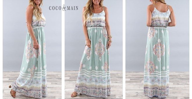 Boho Summer Dress Only $27.99! Down From Up To $72.99!