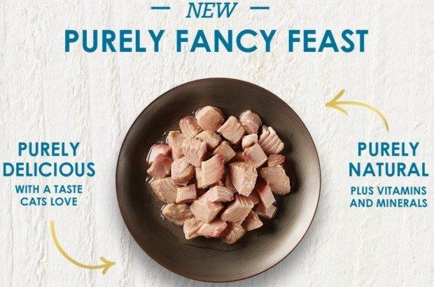 FREE Fancy Feast Purely Cat Food!