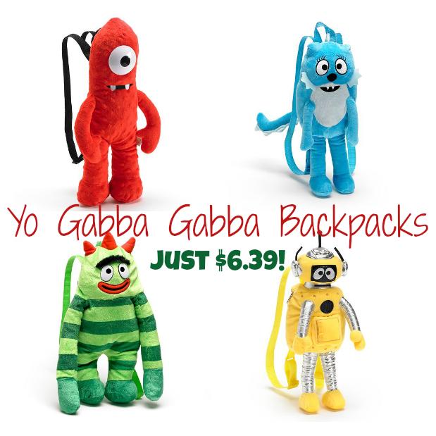 Yo Gabba Gabba Backpacks
