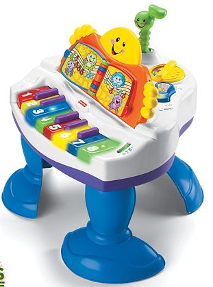 Fisher-Price Laugh & Learn Baby Grand Piano Just $33.99!  Down From $90!