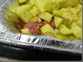 Meatballs & Potatoes