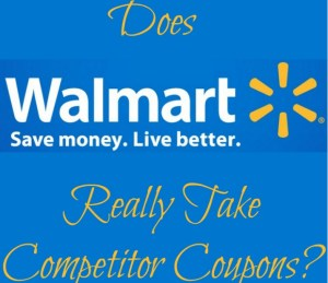 Does Walmart Take Competitor Coupons?