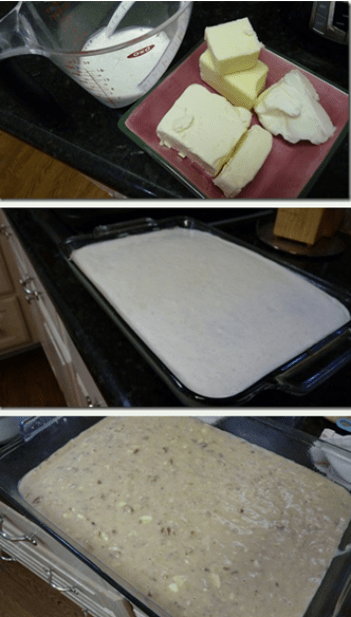 Creamy Banana Nut Cake with Vanilla Bean Frosting!