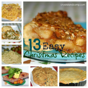 13 Easy Christmas Recipes and How to Use Up Leftovers (Plus 10 Ways to Cook a Ham)!