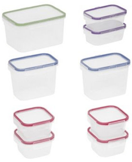 3 Food Network 18 Piece Storage Sets Just $1.24 Each!
