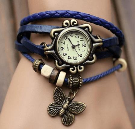 Butterfly Bracelet Watch