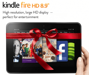 Kindle Fire HD Just $109!