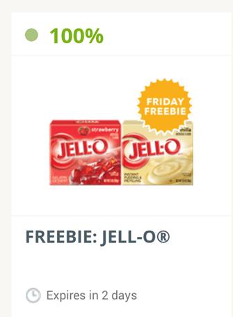 SavingStar Friday FREEbie FREE Jell-O!