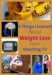 4 Things I Learned About Weight Loss From Watching TV