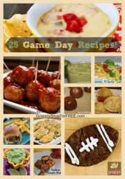 25 Game Day Recipes!