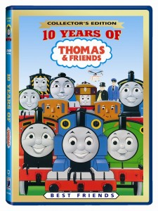 Thomas & Friends: 10 Years of Thomas DVD Just $4!