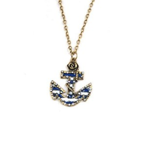 Vintage Anchor Shape Necklace Just $2.41 SHIPPED!