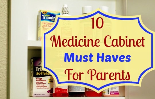 As a parent we always want to make sure we are prepared for anything when it comes to our kids.  So, I wanted to share this great list of 10 must have items for every parent's medicine cabine