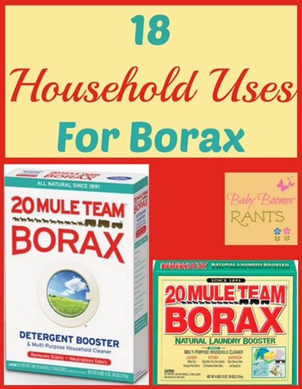 Have you ever tried using Borax?  I used cloth diapers with my oldest and I used Borax in the diaper pail and wash.  But did you know it has many more uses?  Here are 18 Household Uses For Borax!
