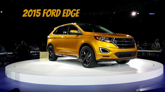 2015 Ford Edge Gold