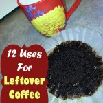 12 Uses For Leftover Coffee Grounds!