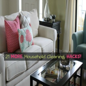 21 MORE Household Cleaning Hacks!