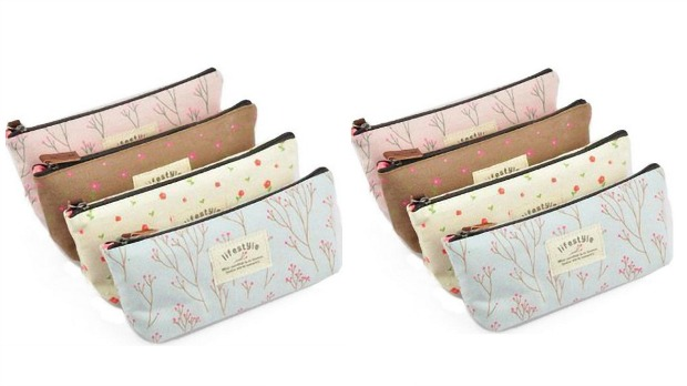 Floral Cosmetic Cases