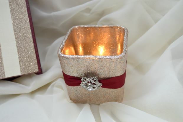 DIY Prayer Box Candle
