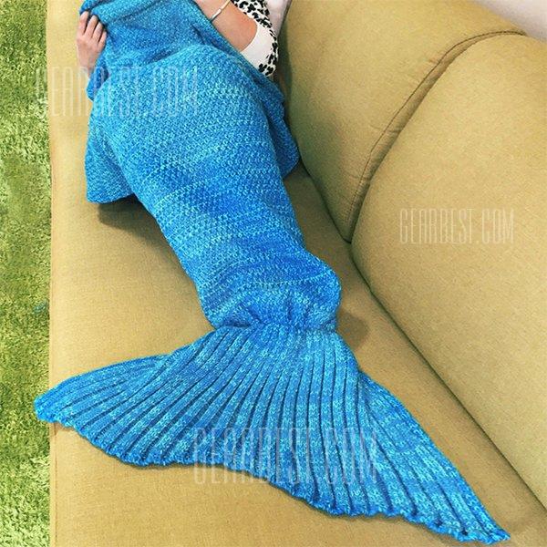 Mermaid Blanket Adult Blue