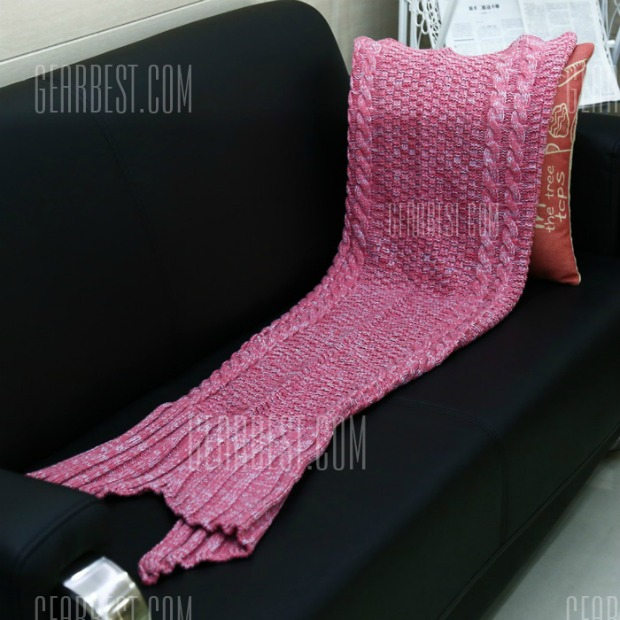 Mermaid Blanket Red