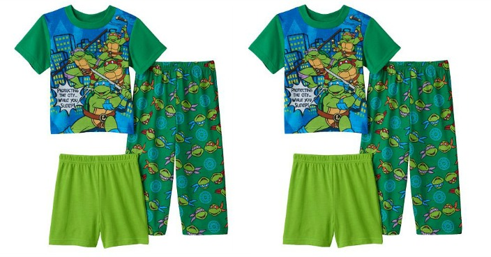 Toddler Boy Teenage Mutant Ninja Turtles Pajamas Only $4.48 Shipped! Down From $32!