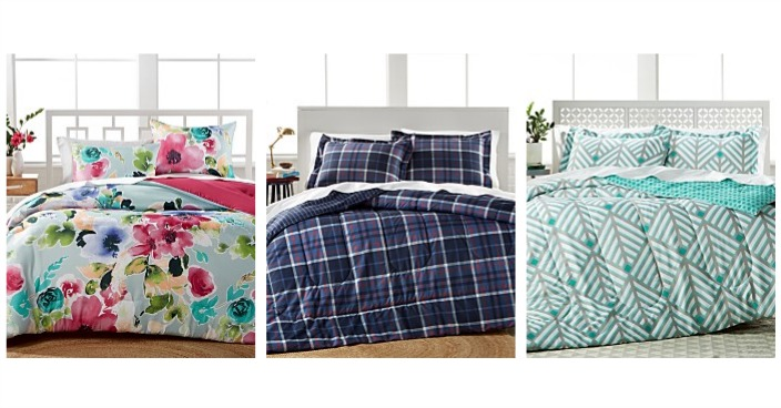 3 Piece Comforter Sets Only $19.99! Down From $80!