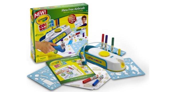 Crayola Color Wonder Mess-Free Airbrush Kit Just $10!