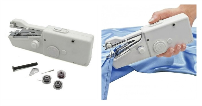 Handheld Sewing Machine Just $9.99! Down From $40! Ships FREE!