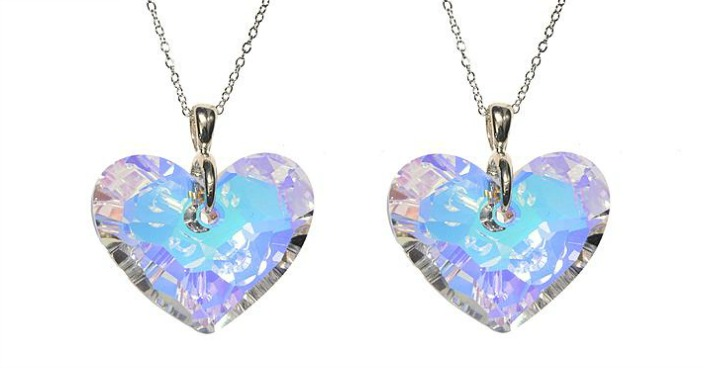 Truly In Love Swarovski Crystal Heart Pendant Just $14.99! Down From $100!