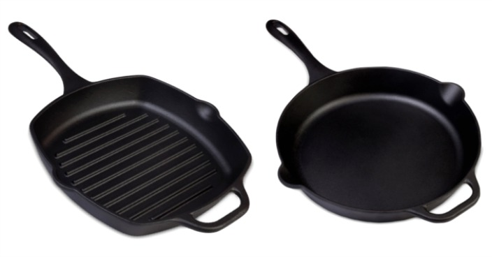 Victoria Cast Iron Skillet Or Grill Pan Only $14.99! Down From $40!