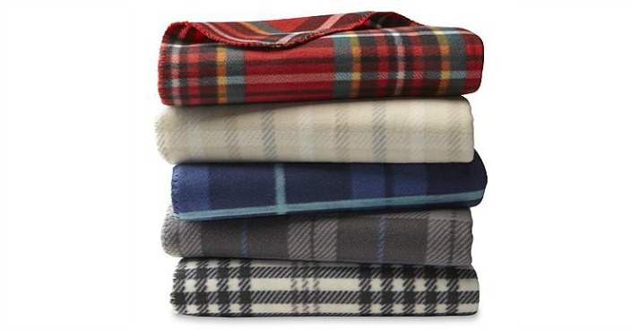 Cannon Fleece Throw Just $4.99! Down From $10!