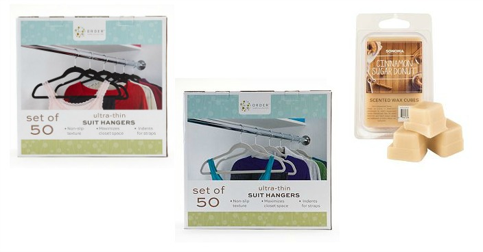 Cohesion Flocked Suit Hangers Just $15.04! Down From $50! Plus FREE Wax Melts!