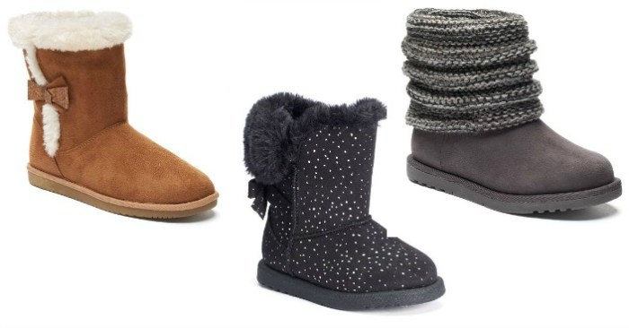 Girl's Boots Only $11.99! Down From $55!