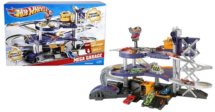 Hot Wheels Mega Garage Playset Only $22.94! Down From $55!