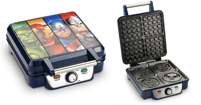 Marvel Avengers Waffle Maker Only $15.29! Down From $50!