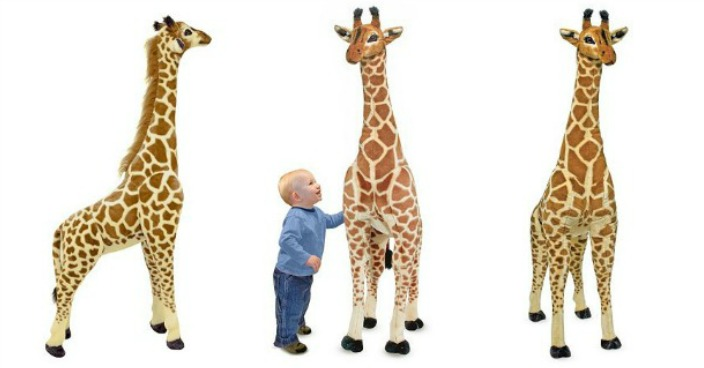Melissa & Doug Plush Giraffe Set Only $45.99! Down From $100!