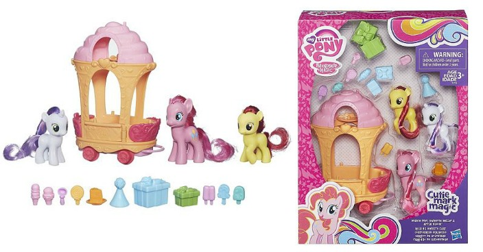 My Little Pony Rolling Sweets Cart Only $8.95! Down $35!