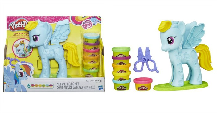 Play-Doh My Little Pony Rainbow Dash Style Salon Playset Just $7.78! Down From $15!