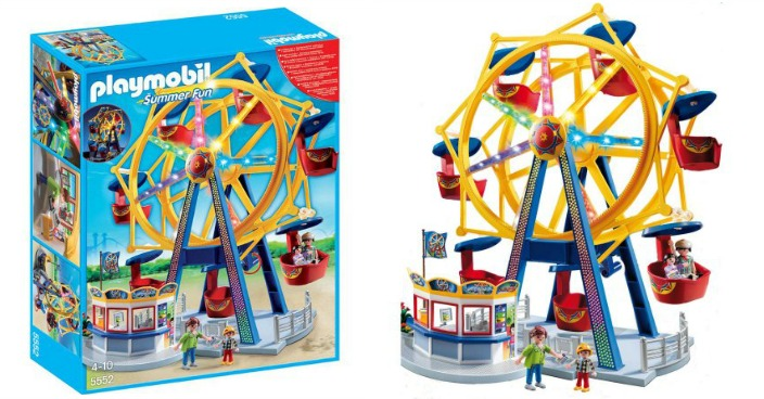 Playmobil Ferris Wheel With Lights Just $36! Down From $60!