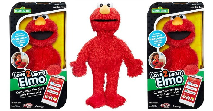 Sesame Street Love2Learn Elmo Toy Only $22.94! Down From $55!
