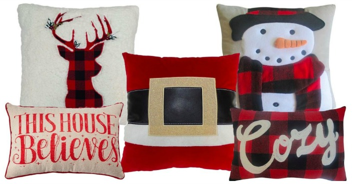 St. Nicholas Square Holiday Throw Pillows Just $10.25! Down From $36!